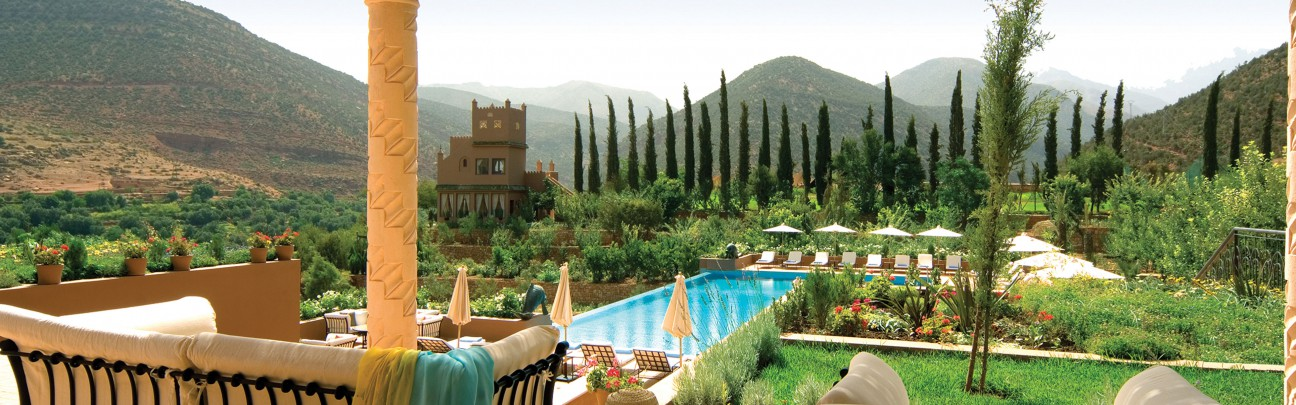 Kasbah Tamadot Hotel - Atlas Mountains - Morocco