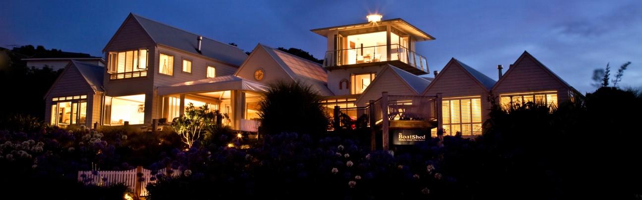 Boatshed hotel – Waiheke Island – New Zealand