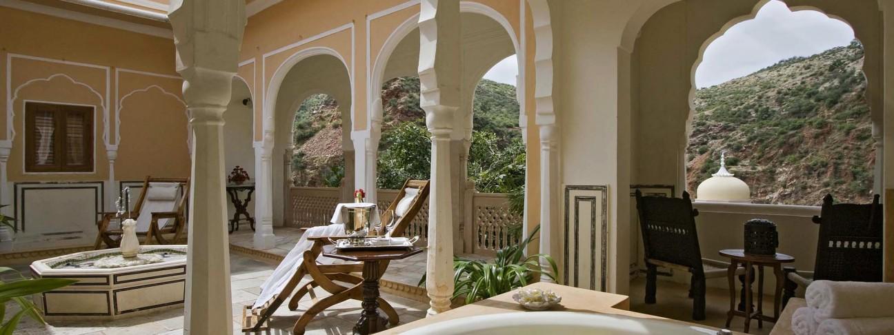 Samode Palace Hotel – Jaipur – India