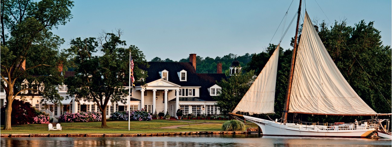 Inn at Perry Cabin - Chesapeake Bay (Maryland) - USA