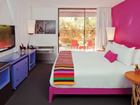 Chaparral Garden View Room - One King Bed