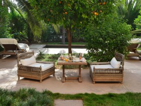 Large Harim-Suite with Private Garden and  Pool