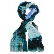image of See you in Santorini scarf